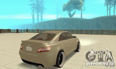 Toyota Camry Tuning 2010 для GTA San Andreas вид слева