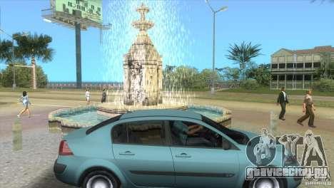 Renault Megane Sedan для GTA Vice City вид справа