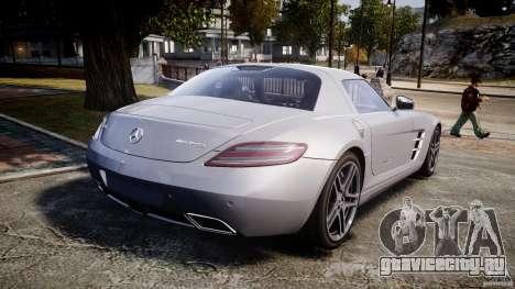 Mercedes-Benz SLS AMG 2010 [EPM] для GTA 4 вид сверху