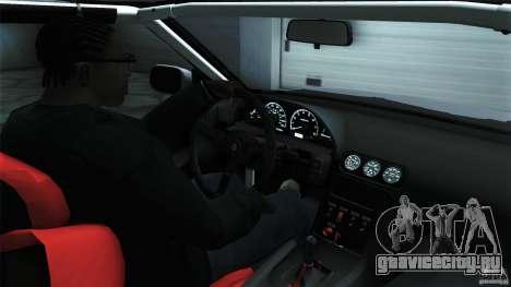 Nissan 240SX S13 Drift Alliance для GTA San Andreas вид сзади