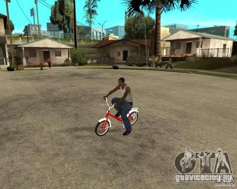 Велосипед GTA SA Tair Bike для GTA San Andreas