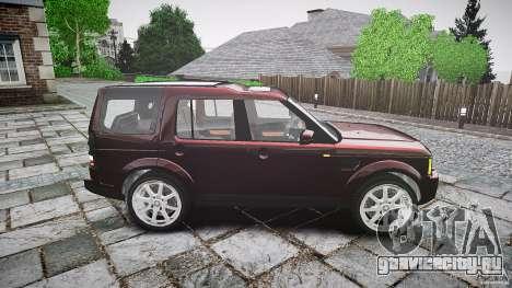 Land Rover Discovery 4 2011 для GTA 4 вид изнутри