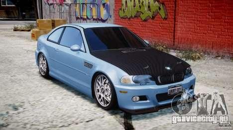 BMW M3 E46 Tuning 2001 для GTA 4 вид изнутри