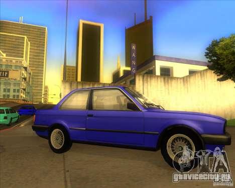 BMW E30 323i для GTA San Andreas вид справа
