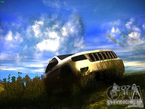 Jeep Grand Cherokee 2012 v2.0 для GTA San Andreas