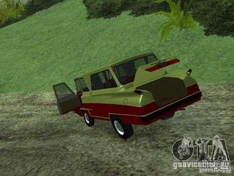 Микроавтобус Старт v1.1 для GTA San Andreas вид сзади
