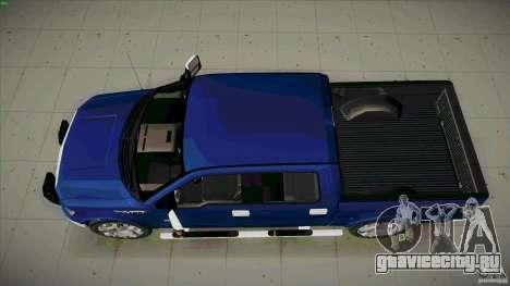 Ford Lobo Lariat Ecoboost 2013 для GTA San Andreas вид справа
