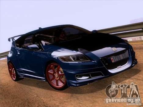Honda CR-Z Mugen 2011 V2.0 для GTA San Andreas вид справа