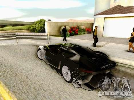 Citroen GT Gymkhana для GTA San Andreas вид слева