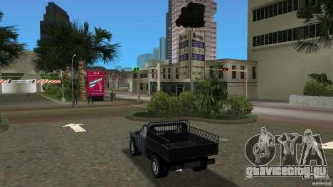 Anadol Pikap для GTA Vice City вид сзади слева