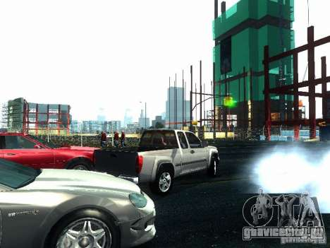 Chevrolet Colorado 2003 для GTA San Andreas вид сзади