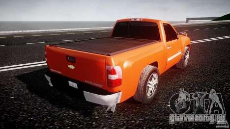 Chevrolet Silverado 2011 для GTA 4 вид сверху