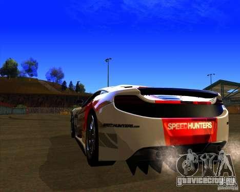 McLaren MP4 - SpeedHunters Edition для GTA San Andreas вид сзади слева
