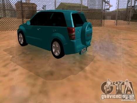 Suzuki Grand Vitara для GTA San Andreas вид слева