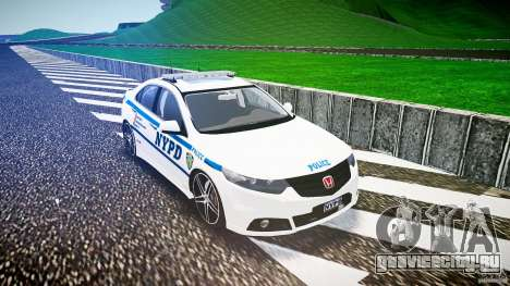 Honda Accord Type R NYPD (City Patrol 2322) ELS для GTA 4