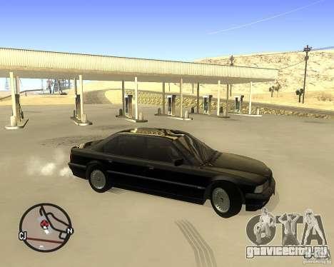 BMW 740il e38 для GTA San Andreas вид слева