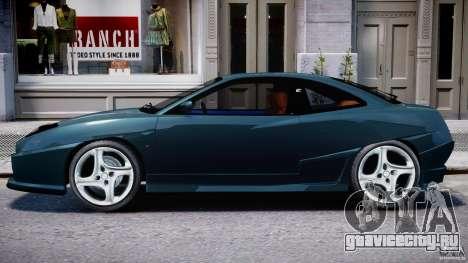 Fiat Coupe 2000 для GTA 4 вид сзади слева