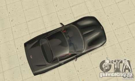 Chevrolet Corvette 5 для GTA San Andreas вид справа