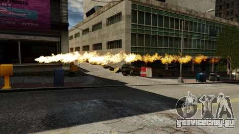 Огонь в руках Геральта для GTA 4 третий скриншот