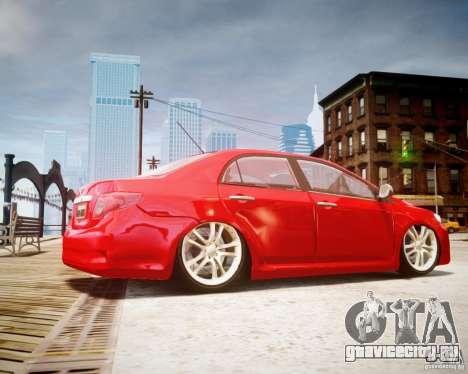 Toyota Corolla 2009 для GTA 4