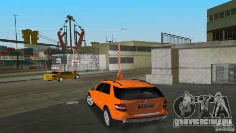 Mercedes-Benz ML 500 для GTA Vice City вид сбоку