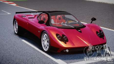 Pagani Zonda F для GTA 4