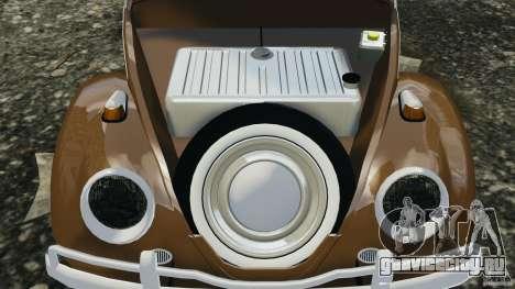 Volkswagen Fusca Gran Luxo v2.0 для GTA 4 вид сверху