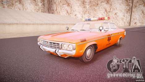 AMC Matador Hazzard County Sheriff [ELS] для GTA 4