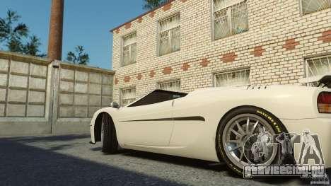Turismo Spider для GTA 4 вид сзади слева