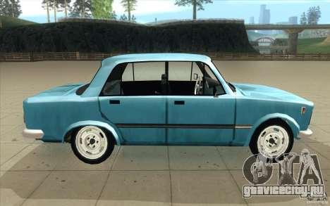 Fiat 125p для GTA San Andreas вид изнутри