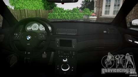 BMW M3 e46 2005 для GTA 4 вид справа