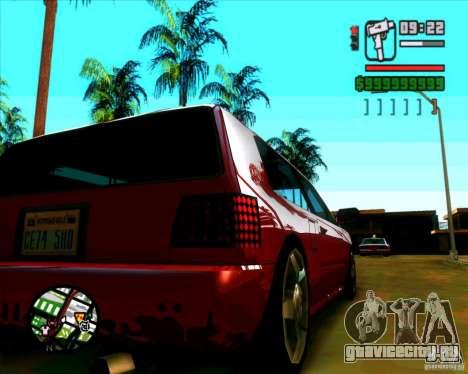 Новые фары и стекло для GTA San Andreas