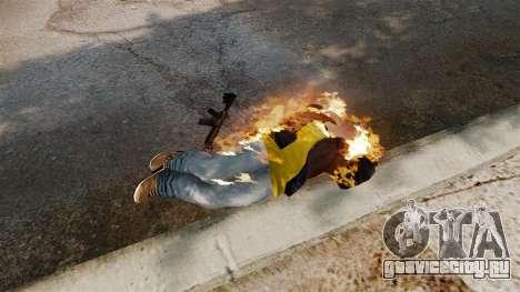 Огненные пули для GTA 4 пятый скриншот