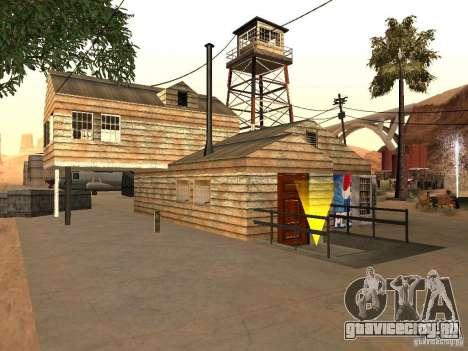 Новые объекты для аэропорта в пустыне для GTA San Andreas второй скриншот