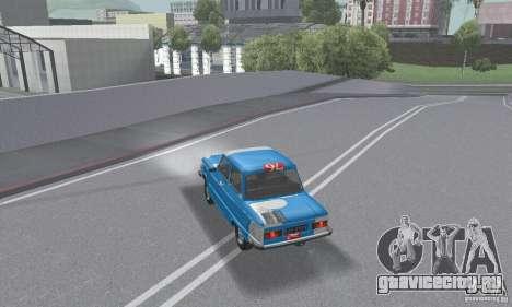 ЗАЗ 968м побитый для GTA San Andreas двигатель