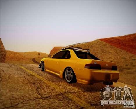 Honda Prelude Tunable для GTA San Andreas вид сзади