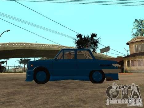 ЗАЗ 968 MUSIC EXPERT для GTA San Andreas вид слева
