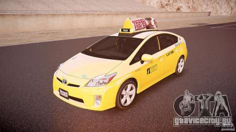 Toyota Prius LCC Taxi 2011 для GTA 4