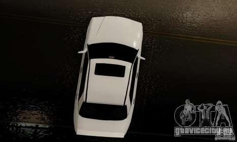 Mercedes-Benz 190E для GTA San Andreas вид сбоку