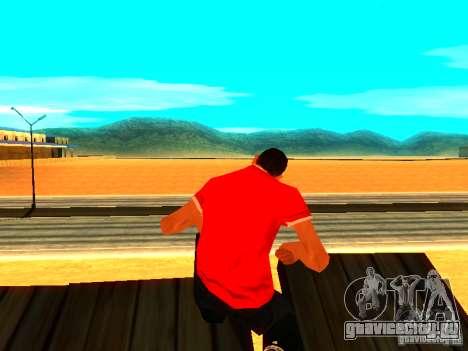 Скин репортера для GTA San Andreas второй скриншот