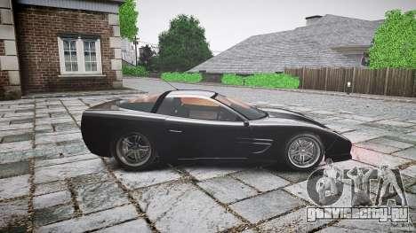 Coquette FBI car для GTA 4 вид слева