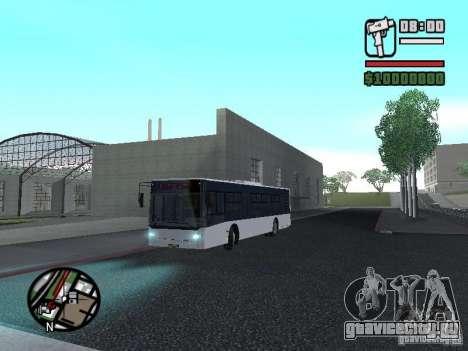 CityLAZ 12 LF для GTA San Andreas вид сверху