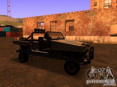 Пикап из Т3 для GTA San Andreas вид слева