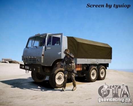 Modern Warfare 2 Soap для GTA 4 пятый скриншот