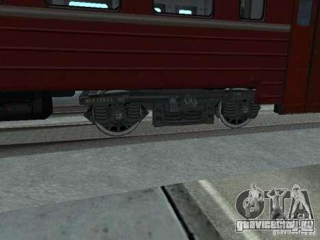 ЭР9М-576 для GTA San Andreas вид сзади