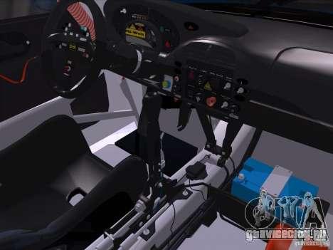 Porsche 911 GT3  RWB для GTA San Andreas вид сзади