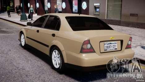 Chevrolet Evanda для GTA 4 вид справа