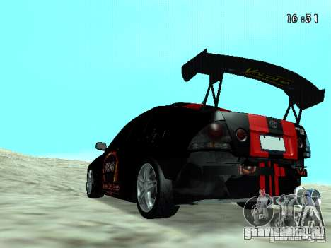 Toyota Altezza NKS Drift для GTA San Andreas вид слева