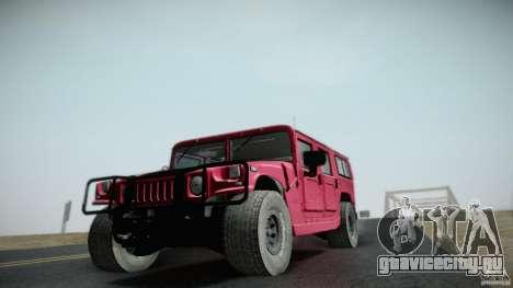 Hummer H1 Alpha Off Road Edition для GTA San Andreas вид сзади