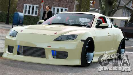 Mazda RX-8 Mad Mike для GTA 4 вид слева